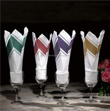 wholesale cheap polyester table cloth napkin for dining room