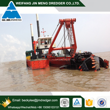 24 inch hydraulic cutter suction sand pump dredger for sand dredging from river, sea, port
