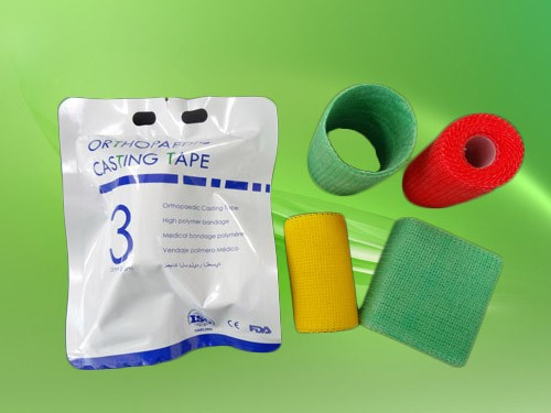 High strength fiber fix armored cast wrap tape for repair hose