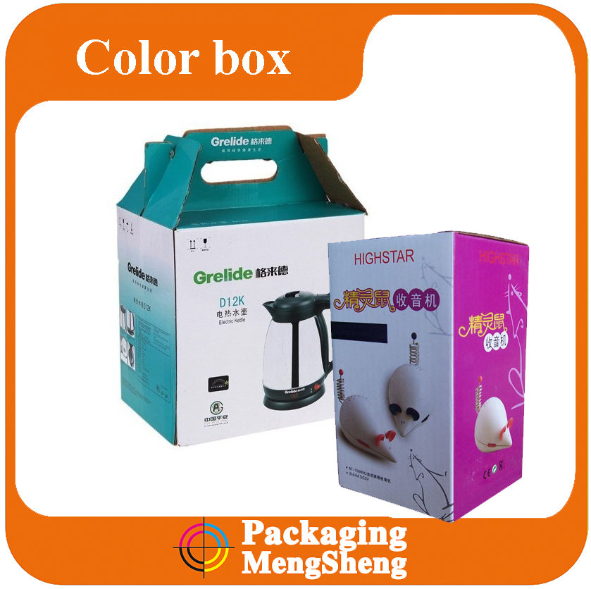 Recyclable Feature and Home Appliance Industrial Use kraft cardboard box packaging