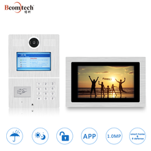 Bcomtech WIFI TCP/ IP SIP Multi Apartment Video Door Phone System