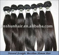 Natural Straight Brazilian Human Hair Extension