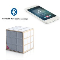 Rechargeable Portable Wireless cube Bluetooth speaker