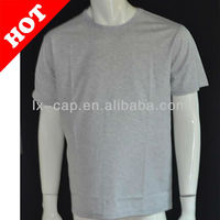 Mens Promotional T-shirt Short Sleeve T-shirt 100% Cotton T shirt Plain Blank T-shirt
