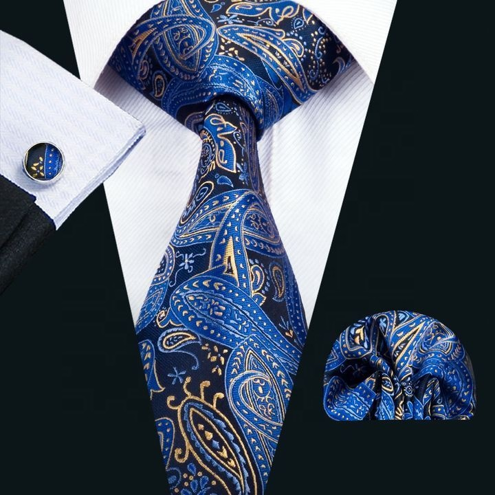 New Classic Floral Necktie Polyester Unique Neckties Men Elegant Neck <strong>Ties</strong>