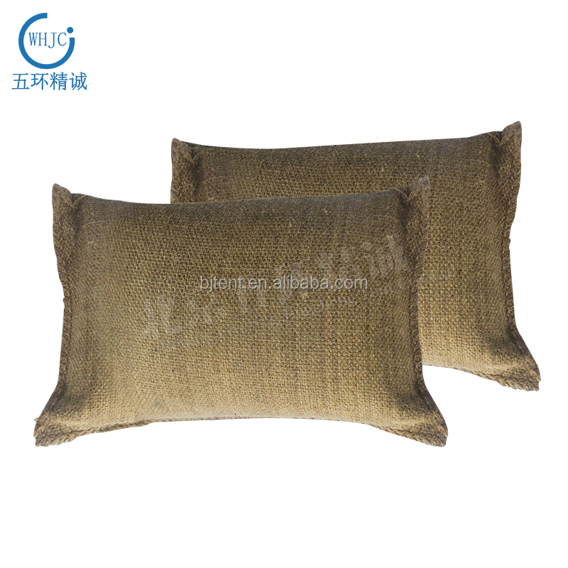 new type high-tech self-expansion sap jute flood protection bags