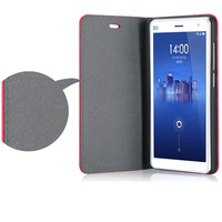 Lychee pattern OEM special gift pu leather case for Xiaomi 4 cell phone