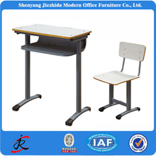 combo attached cheap used attached junior school desk chair for sale