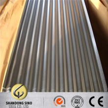 Supply 0.12mm galvanized corrugated steel roofing sheets used for construction