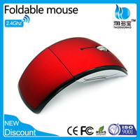 VMW-21 Folding arc 2.4Ghz Wireless Mouse with USB Optical Mini mouse
