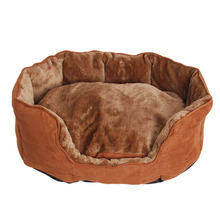 Dog soft sofa high quality dog bed luxury China suppliers pet custom cushion accessories