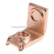 Custom-Made Cold Press 10-32 Thread T2 Copper Terminal Connector