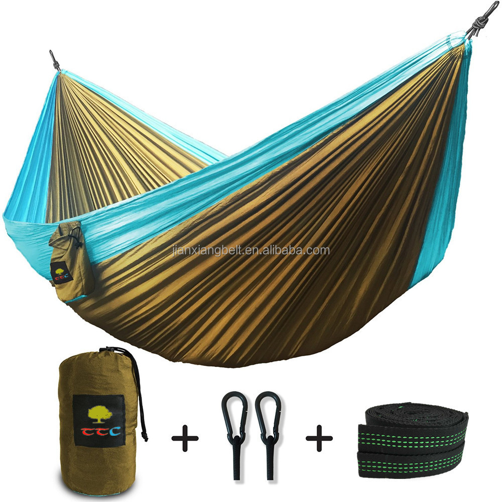 Trek Camping Hammock - Lightweight Portable Nylon ...