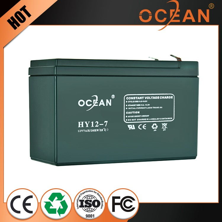 Attractive design good selling attractive design 12V 7ah dry cell battery ups