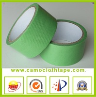 Rubber green cloth packing tape