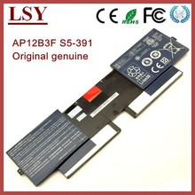 Original genuine laptop battery for acer S5-391 battery S5 AP12B3F notebook battery internal bateria