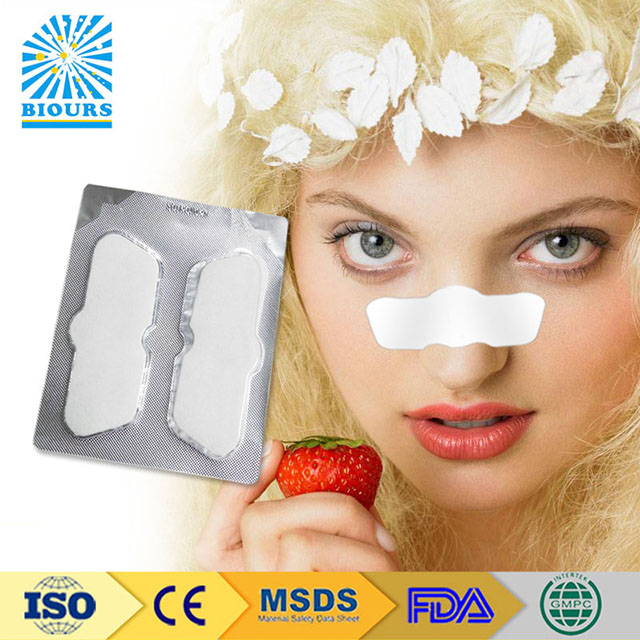 MSDS Approved Gel Nasal Strip Resolve Nasal Congestion Private Label Accept