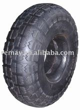 Flat free tyre / Pu foam wheel & tire (2.50-4)