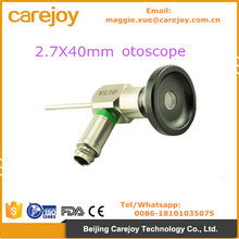 ENT Otoscope 2.7*40mm 0 degree auriscope Compatible Stryker Wolf Olympus Endoscope Rigid