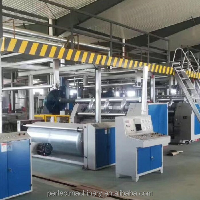 Carton corrugated cardboard making machine