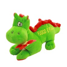 Customized Plush Stuffed Green Color Dinosaur Shaped Animal Toy