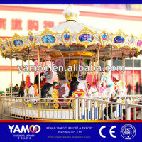 China Reliable Supplier Lower Electric Carousel Horse Rides Prices