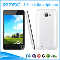 Hot selling 3.5inch dual sim cheap mtk6577 dual core android 4.2 jelly bean phone