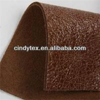soft and worm craquelure cow leather for shoes