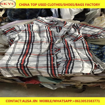 Dubai UAE summer used clothes buyers wholesale used clothing for Africa buyers