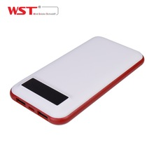 New design Portable Dual USB output credit card power banks