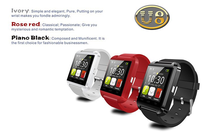 Bluetooth Smart watch phone U8 U Watch for Samsung S4/Note 2/Note 3 HTC LG Huawei Xiaomi Android Phone Smartphones 2015 Hot