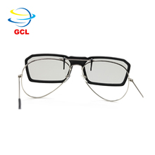 Hot passive make circular polarized vr 3d glasses for 3D movie