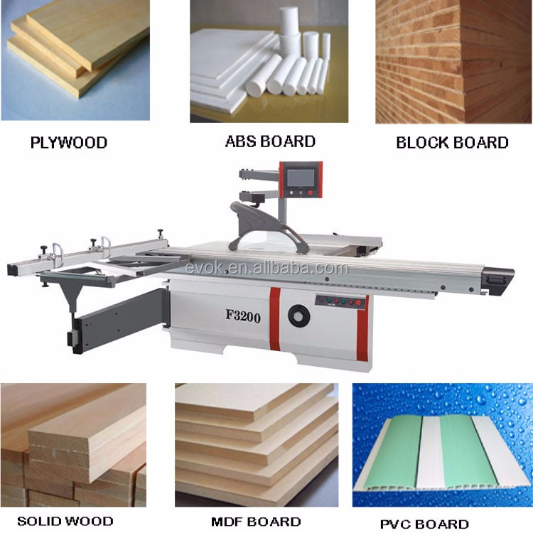 CNC High Speed 45 Degree Sliding Table Saw F3200