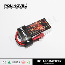 65C high discharge rate 3S1P lipo drone battery 11.1v 1300mah