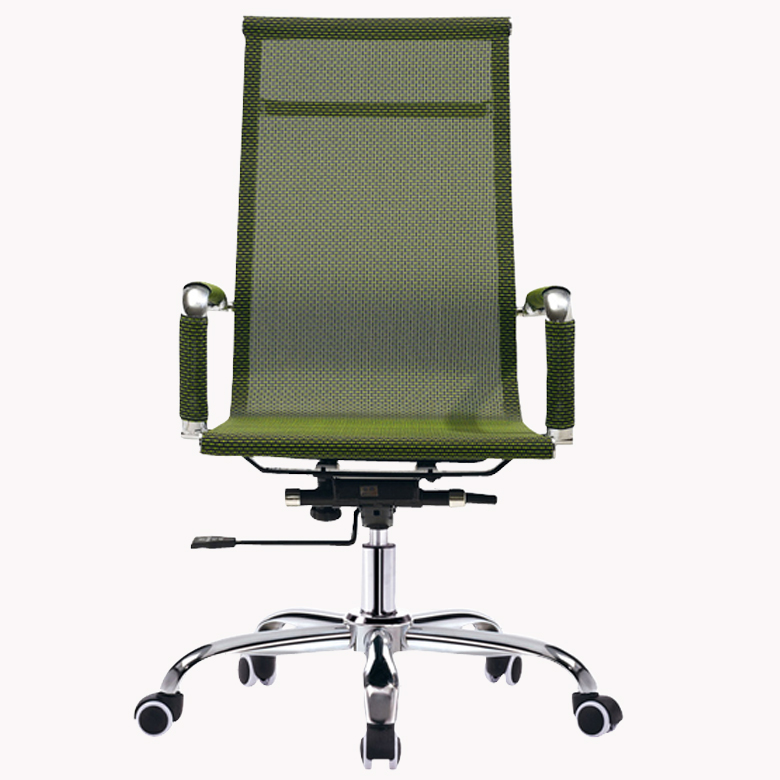W632-1B Wholesale metal frame ergonomic net back office chair