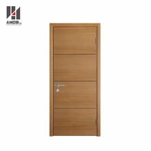 Modern latest designs bedroom pvc coated interior mdf simple teak wood door