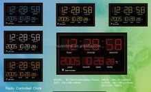 LED RADIO CONTROLLED CLOCK(PATENTED)