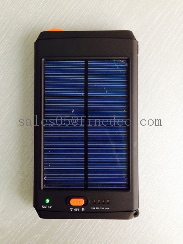 T293 Portable hp laptop solar charger