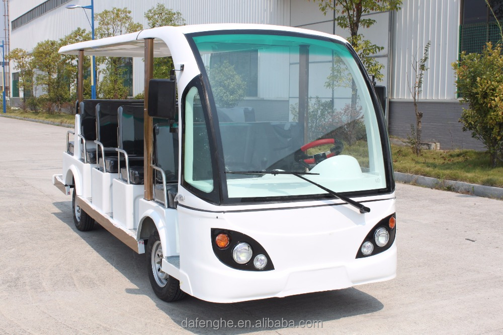 Newest price 14 passenger electric sightseeing car
