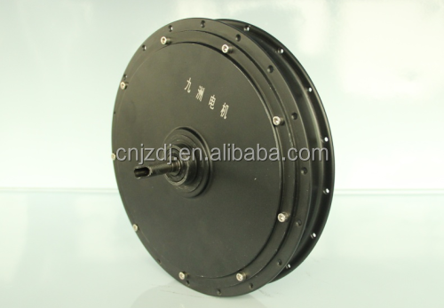 "48v brushless dc motor DM-210 10"" hub motor"