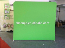 Green Screen Step and Repeat backdrop Photo Booth wall