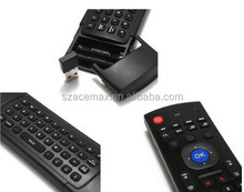 2.4G Mini Wireless Keyboard Fly Multifunctional W Infrared Remote Control Learning Air Control for Android Smart TV Box G Box