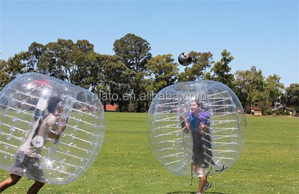 Inflatable Ball Suit,soccer bubble ball for human