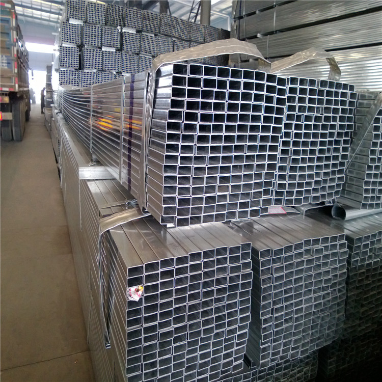 best price rectangular/square steel pipe/tubes/hollow section galvanized/ pre galvanized square pipe fencing