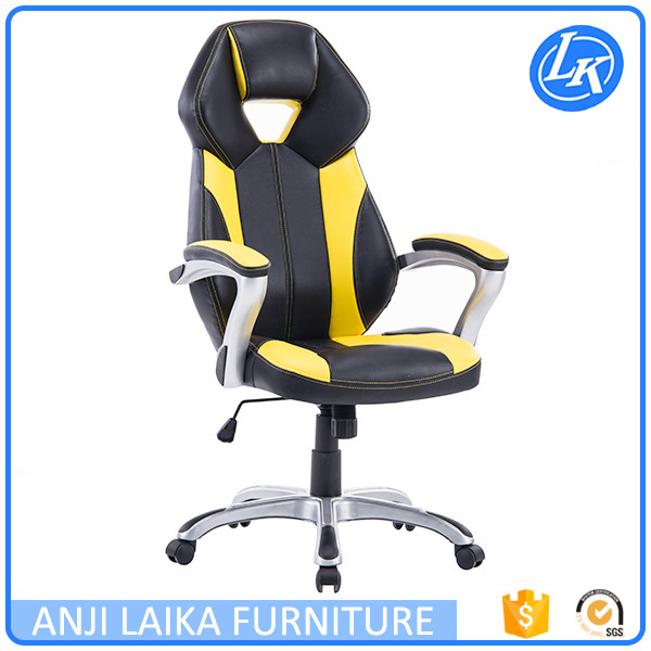 Luxury design custom and comfortable office chair racing back support