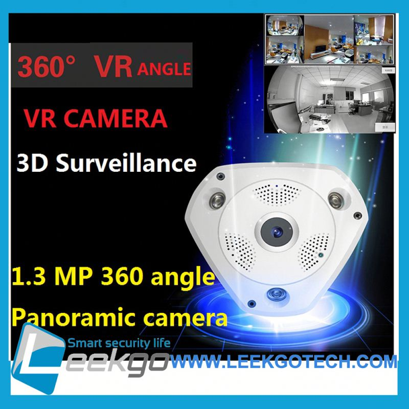 Factory Price Wholesale 960P P2P Wifi 3D VR Video 360 degree panoramic camera