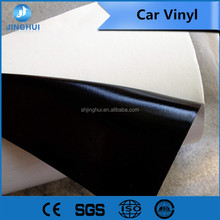 Transparent PVC film 1.27*50m 8mic 140g Liner Paper black glue self adhesive vinyl glossy( for Smooth walls
