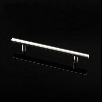 TOPCENT stainless steel furniture cabinet T bar solid metal hollow door handle
