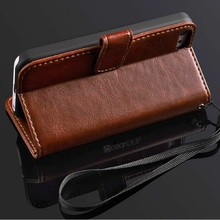 Magnetic stand function wallet leather case for iphone 5c card slots brand new trendy case for 2014