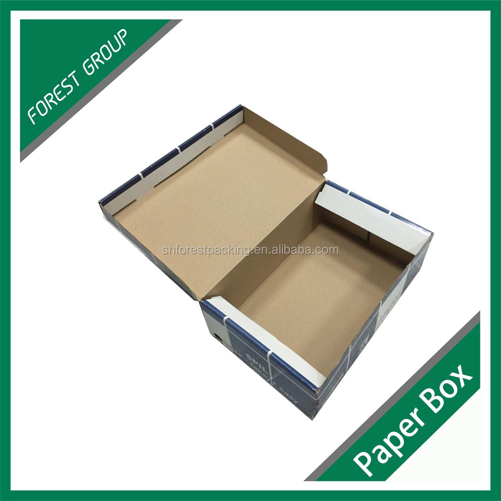 HOT SALE CHEAP CORRUGATED DROP FRONT GIANT SHOE BOX
